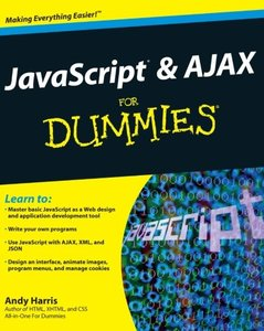 JavaScript and AJAX For Dummies (Paperback)-cover