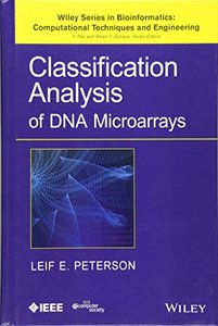 Classification Analysis of DNA Microarrays (Hardcover)-cover