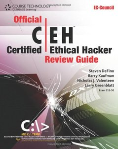 Official Certified Ethical Hacker Review Guide (Paperback)-cover