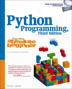 Python Programming for the Absolute Beginner, 3/e (Paperback)-cover