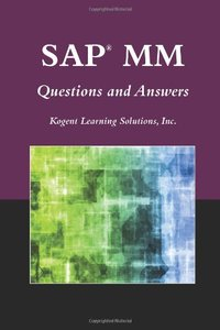 SAP MM Questions And Answers (Paperback)-cover