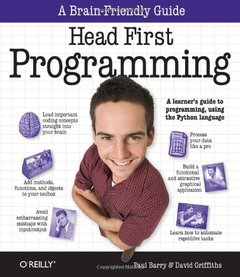 Head First Programming: A Learner's Guide to Programming Using the Python Language (Paperback)-cover