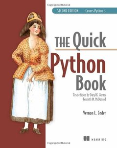 The Quick Python Book, 2/e (Paperback)-cover