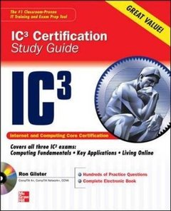 Internet Core and Computing IC3 Certification Global Standard 3 Study Guide (Paperback)-cover