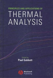 Principles and Applications of Thermal Analysis (Hardcover)-cover