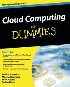 Cloud Computing For Dummies (Paperback)-cover