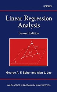 Linear Regression Analysis, 2/e (Hardcover)-cover