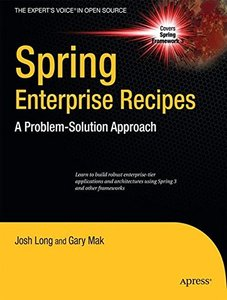 Spring Enterprise Recipes: A Problem-Solution Approach (Paperback)-cover