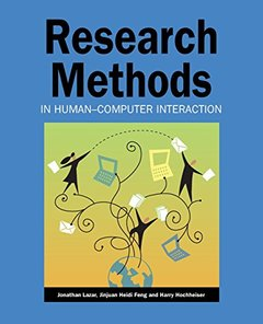 Research Methods in Human-Computer Interaction (Paperback)-cover