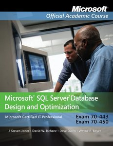 70-443 and 70-450: Microsoft SQL Server Database Design and Optimization, Package (Paperback)-cover