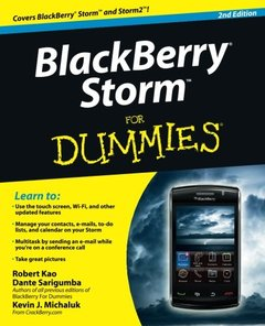 BlackBerry Storm For Dummies, 2/e (Paperback)-cover