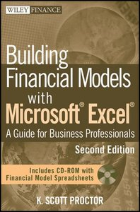 Building Financial Models with Microsoft Excel: A Guide for Business Professionals, 2/e (Hardcover)-cover