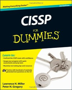 CISSP For Dummies, 3/e (Paperback)-cover