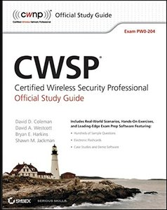 CWSP: Certified Wireless Security Professional Official Study Guide: Exam PW0-204 (Paperback)-cover