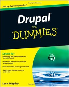Drupal For Dummies (Paperback)-cover