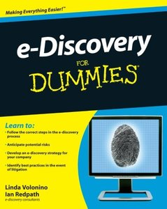 e-Discovery For Dummies (Paperback)-cover