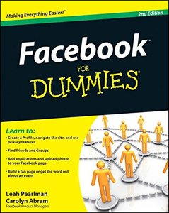 Facebook For Dummies, 2/e (Paperback)-cover