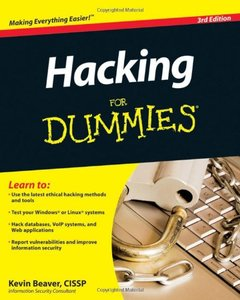 Hacking For Dummies, 3/e (Paperback)-cover