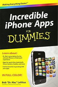 Incredible iPhone Apps For Dummies (Paperback)-cover