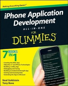 iPhone Application Development All-In-One For Dummies (Paperback)-cover
