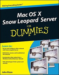 Mac OS X Snow Leopard Server For Dummies (Paperback)-cover