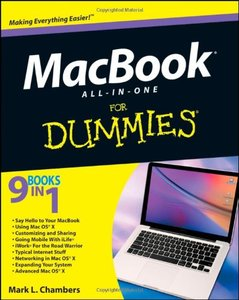 MacBook All-in-One For Dummies (Paperback)-cover
