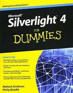 Microsoft Silverlight 4 For Dummies (Paperback)-cover