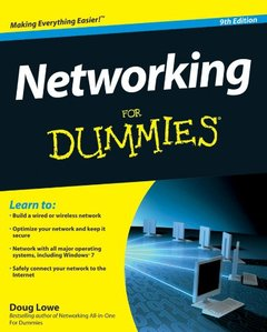 Networking For Dummies, 9/e (Paperback)-cover