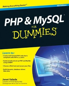 PHP & MySQL For Dummies, 4/e (Paperback)-cover