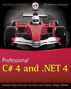 Professional C# 4.0 and .NET 4 (Paperback)-cover