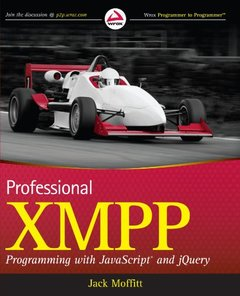 Professional XMPP Programming with JavaScript and jQuery (Paperback)-cover
