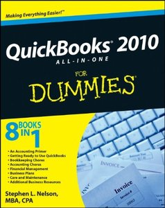 QuickBooks 2010 All-in-One For Dummies (Paperback)-cover