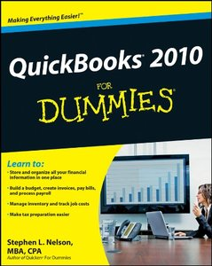QuickBooks 2010 For Dummies (Paperback)-cover