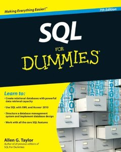 SQL For Dummies, 7/e (Paperback)-cover