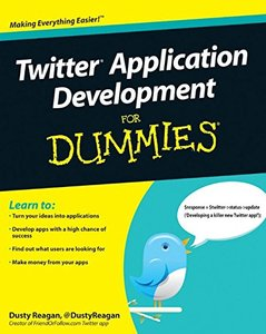 Twitter Application Development For Dummies (Paperback)-cover