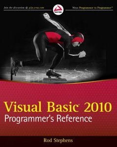Visual Basic 2010 Programmer's Reference (Paperback)-cover