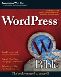 WordPress Bible (Paperback)-cover