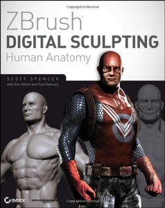 ZBrush Digital Sculpting Human Anatomy (Paperback)-cover