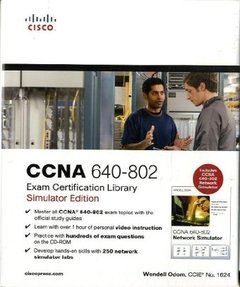 CCNA 640-802 Exam Certification Library, Simulator Edition (Hardcover)-cover