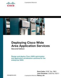 Deploying Cisco Wide Area Application Services, 2/e (Hardcover)-cover