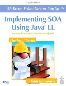 Implementing SOA Using Java EE (Paperback)-cover