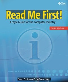Read Me First! A Style Guide for the Computer Industry, 3/e (Paperback)-cover