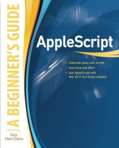 AppleScript: A Beginner's Guide (Paperback)-cover