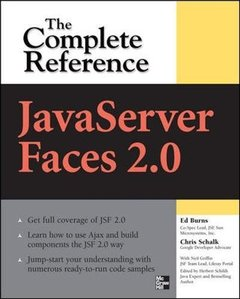 JavaServer Faces 2.0 : The Complete Reference (Paperback)-cover