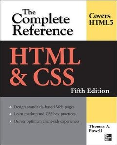 HTML & CSS: The Complete Reference, 5/e (Paperback)-cover