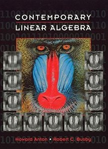 Contemporary Linear Algebra (Hardcover)-cover