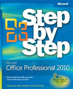 Microsoft Office Professional 2010 Step by Step (Paperback)-cover