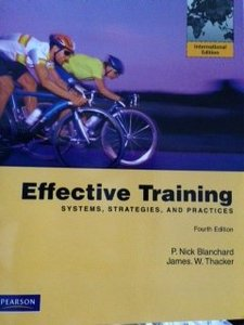 Effective Training Systems, Strategies, and Practices, 4/e (IE-Paperback)