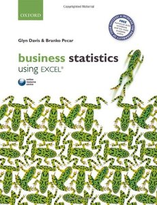 Business Statistics Using Excel (Paperback)-cover