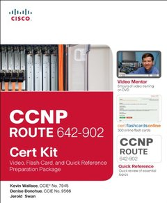 CCNP Route 642-902 Cert Kit: Video, Flash Card, and Quick Reference Preparation Package( Video Mentor )-cover